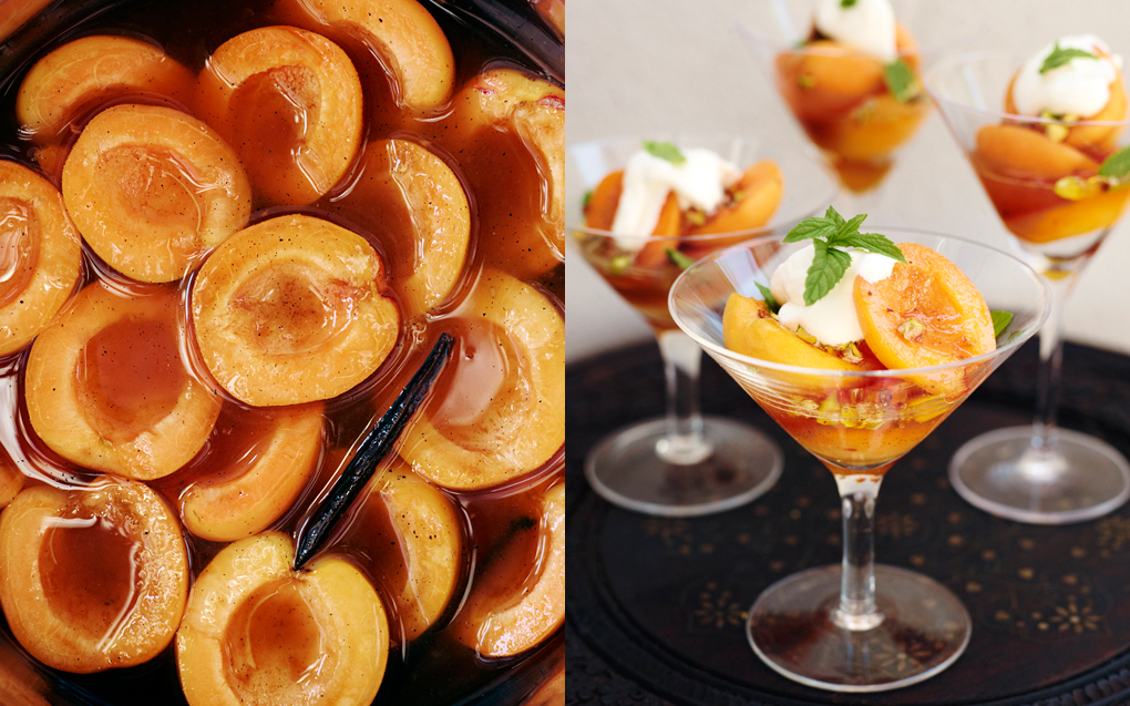 apricots in rum